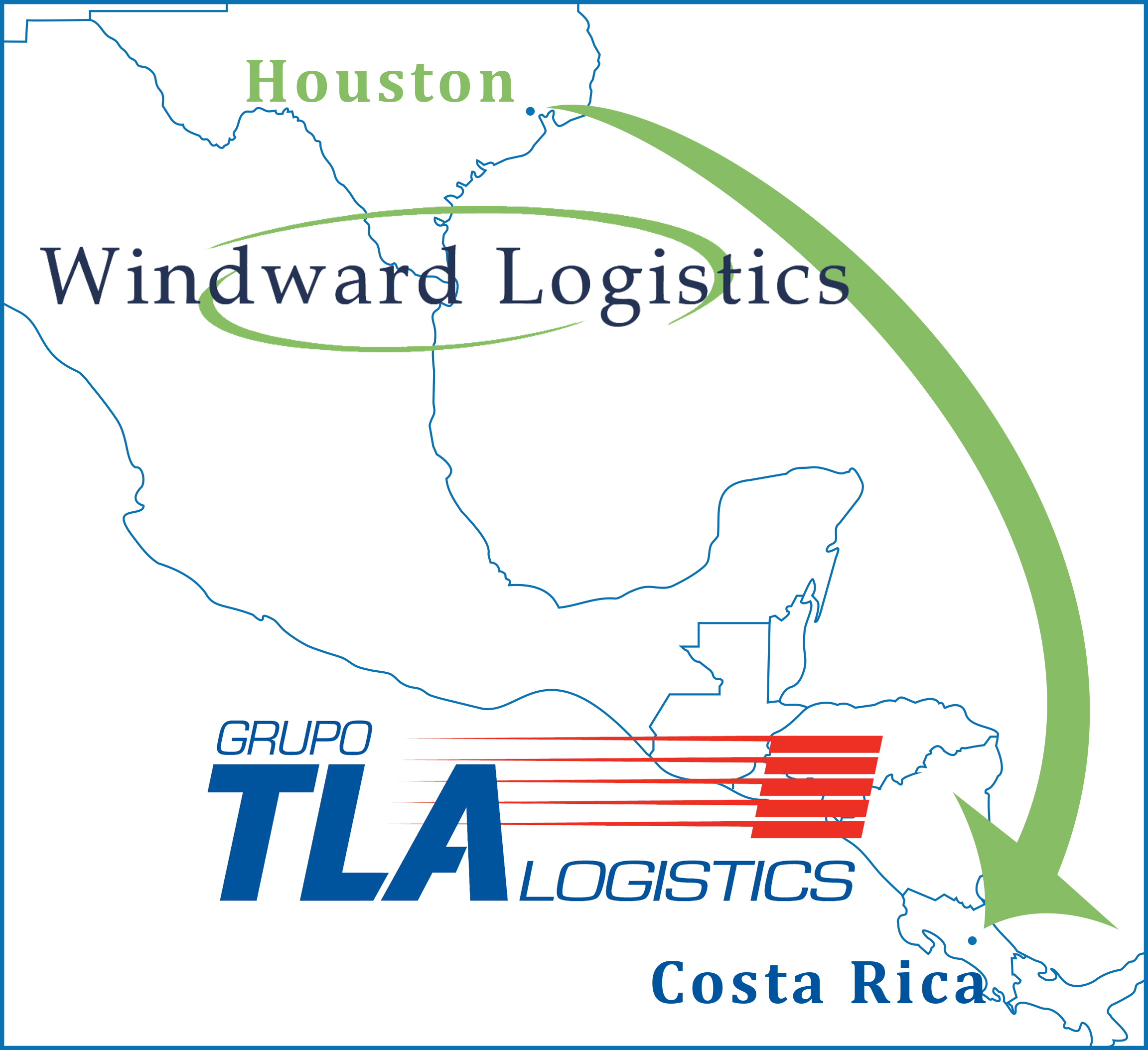 Windward Logisitcs and Grupo TLA