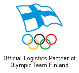 Official Logistics Partner of Olympic Team Finland