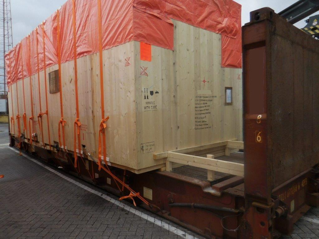 OOG cargo boxed up